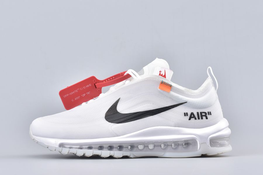 2017 Off-White x Nike Air Max 97 Ghosting Pack The 10 In White For Sale