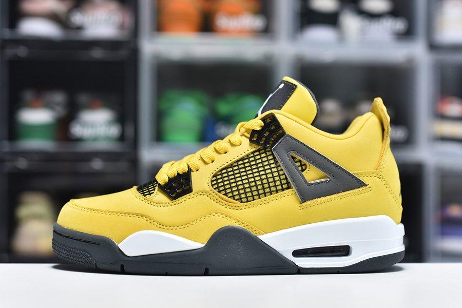 Air Jordan 4 IV Retro LS Lightning Tour Yellow