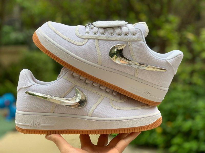 Nike Air Force 1 Low Travis Scott In White