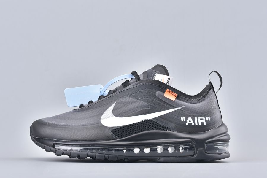 Off-White x Nike Air Max 97 OG Black AJ4586-001 For Sale