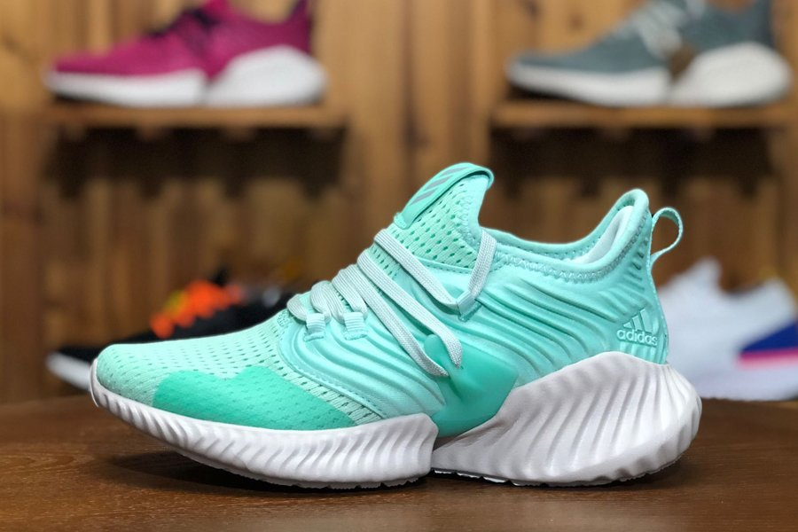 adidas Alphabounce Instinct Aqua Green-Sail-White Running Shoes F36767 Sale