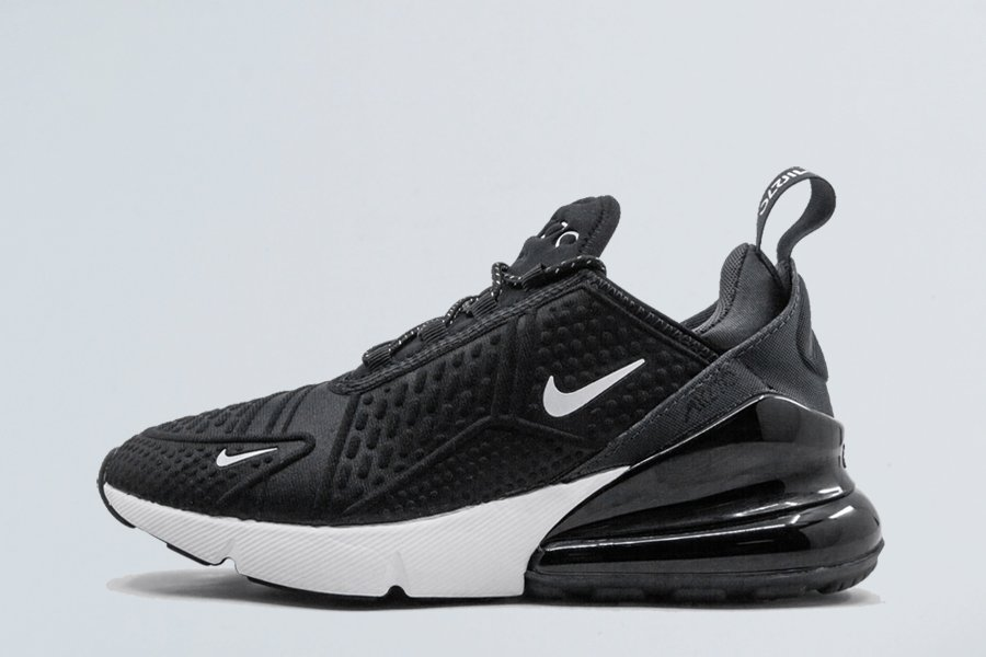 Mens and Womens Nike Air Max 270 SE Black White On Sale