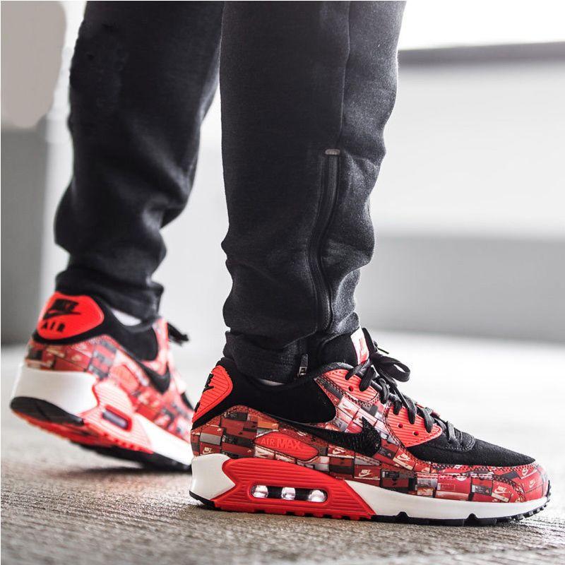 atmos x Nike Air Max 90 Print We Love Nike On Feet