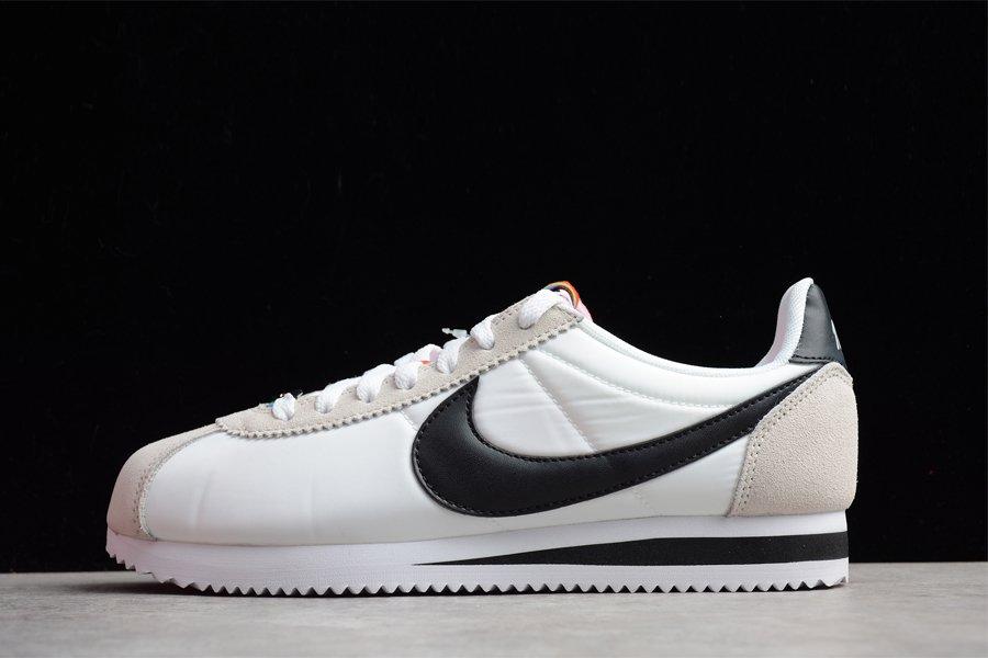 Nike Classic Cortez Be True White Black-Summit White For Sale
