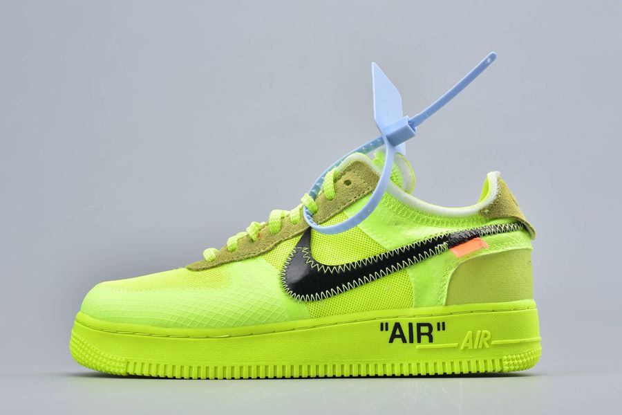 2018 OFF-WHITE x Nike Air Force 1 Low Volt For Sale