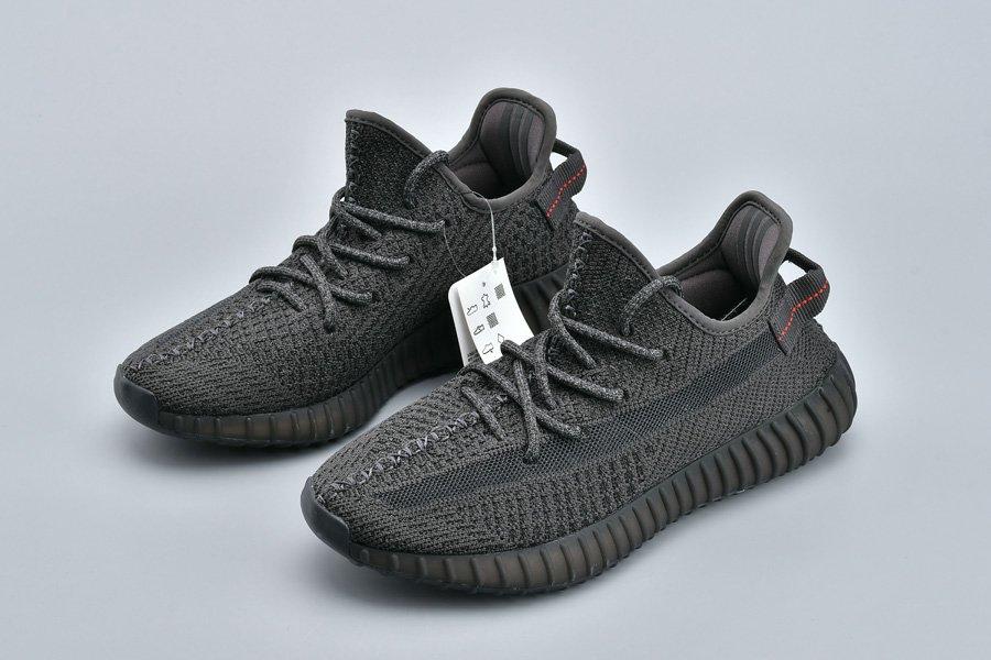 adidas Yeezy Boost 350 V2 Static Black Reflective Cheap Sale
