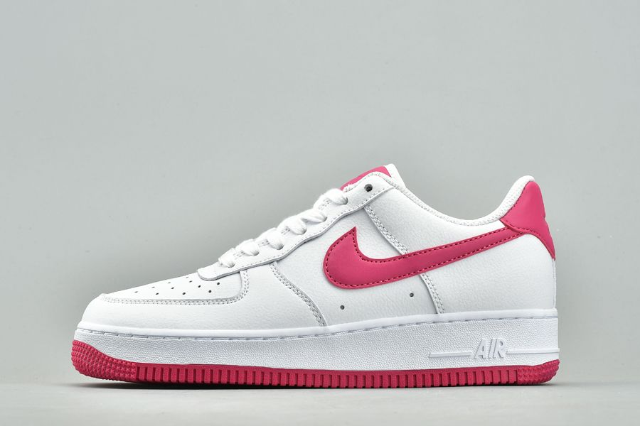 New Nike Air Force 1 07 W White Rose Red For Sale