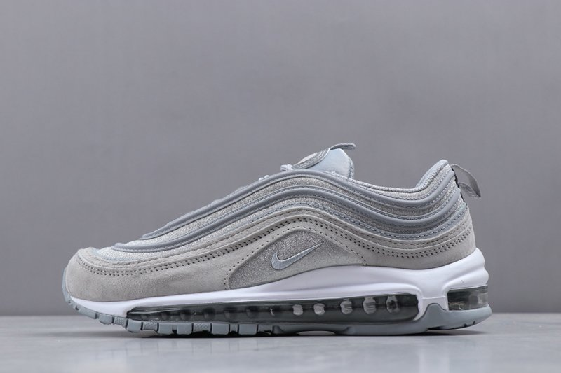 Womens Nike Air Max 97 Wolf Grey Pure Platinum White Trainers For Sale