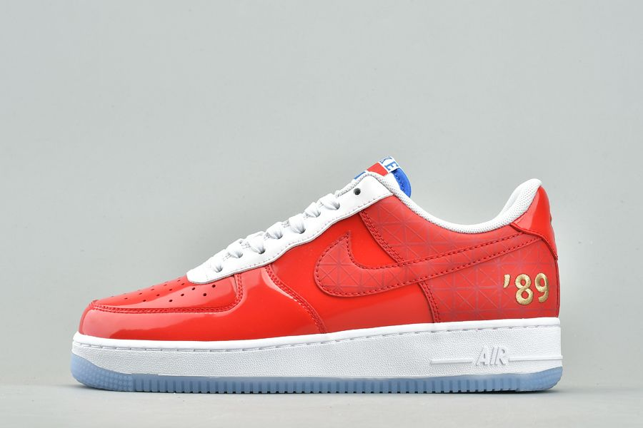 Nike Air Force 1 Low NBA Finals 89 Red White Blue For Sale