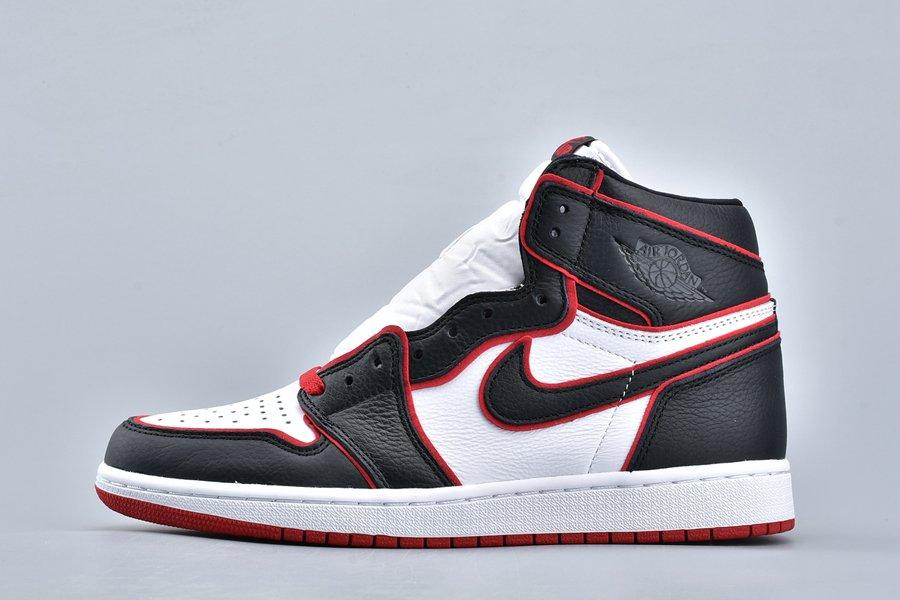 Air Jordan 1 High OG Bloodline Meant to Fly Black Gym Red-White On Sale
