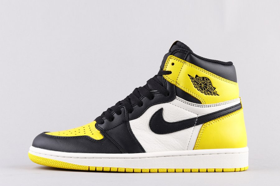 Air Jordan 1 Retro High OG Yellow Toe AR1020-700 For Sale