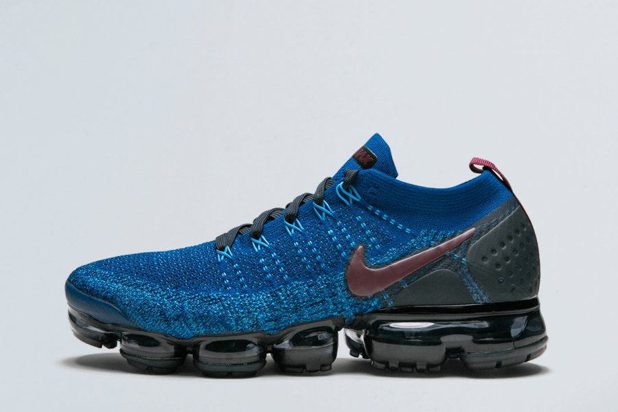 Mens Air VaporMax Flyknit 2 Gym Blue 942842-401 To Buy