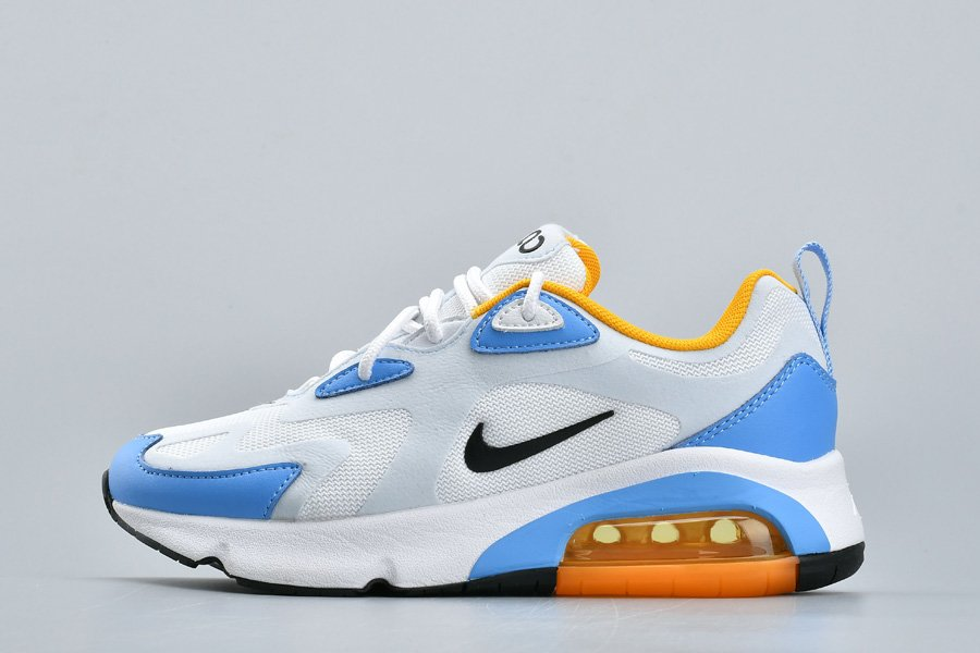 Nike Air Max 200 White University Blue For Sale