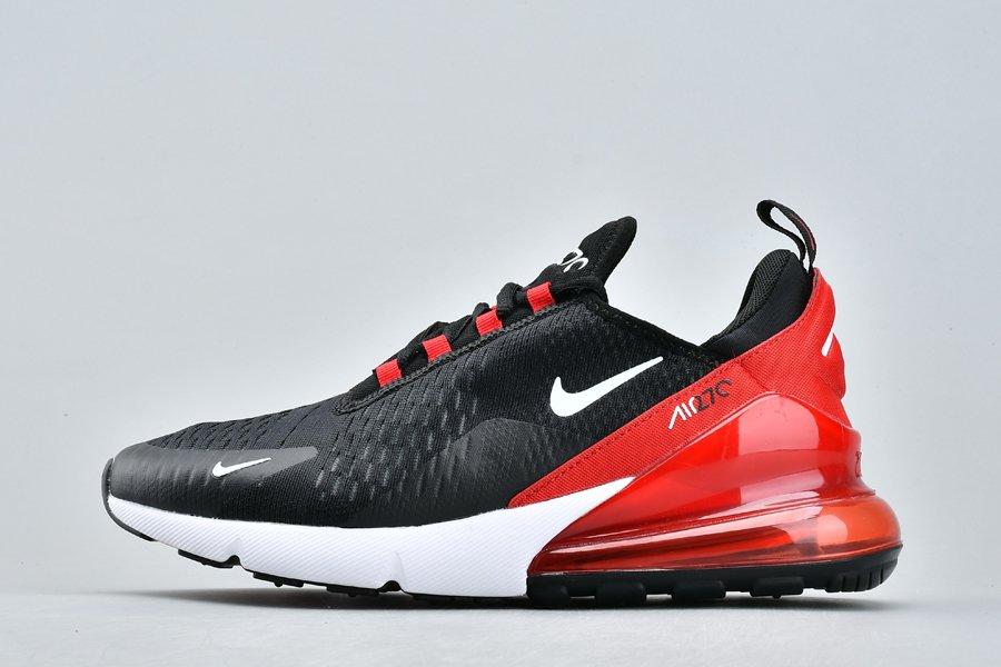 Nike Air Max 270 Bred Black Red AH8050-022 Cheap Sale