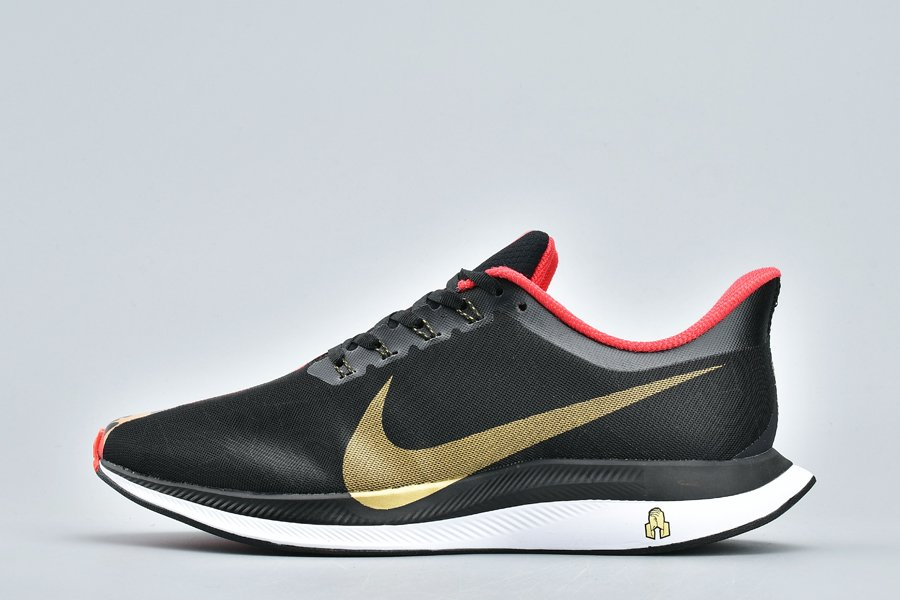 Nike Zoom Pegasus 35 Turbo CNY Black Red Gold For Sale