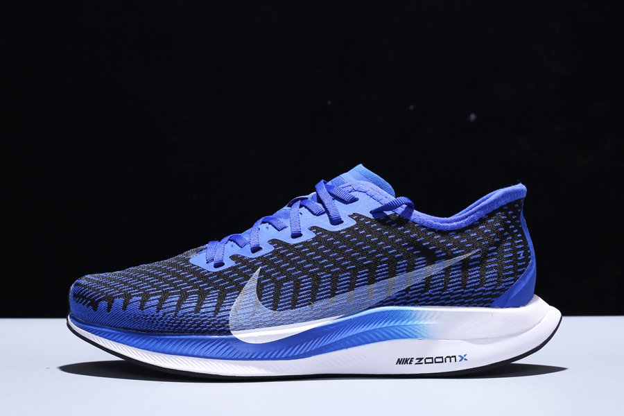 Nike ZoomX Pegasus Turbo 2 Racer Blue White AT2863-400 For Sale