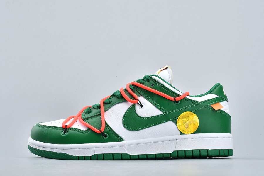 Off-White x Nike Dunk Low Pine Green CT0856-100 To Buy