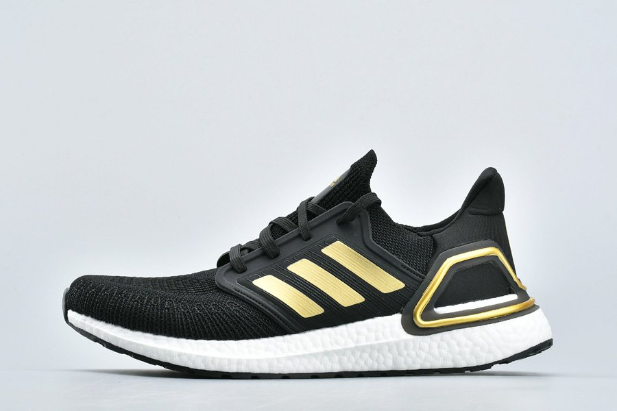 adidas Ultra Boost 20 Consortium Black Gold For Sale