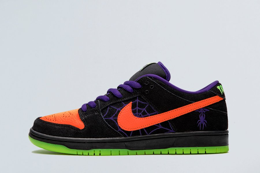 2019 Nike SB Dunk Low Night of Mischief Halloween For Sale