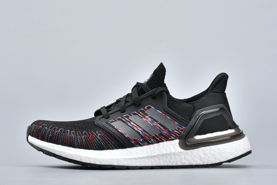All-New Knit Pattern Adidas Ultraboost 2020 Consortium Black To Buy
