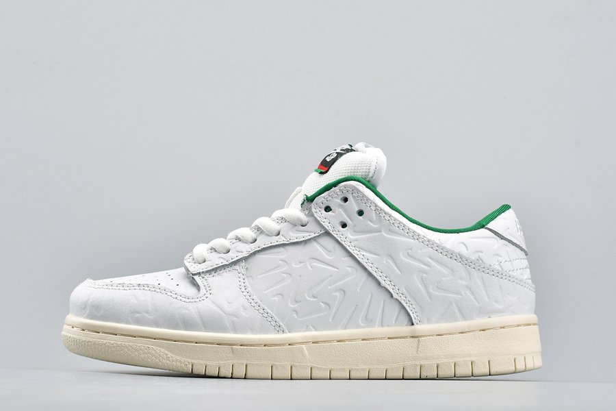 Ben-G x Nike SB Dunk Low White-Lucid Green-Sail For Sale