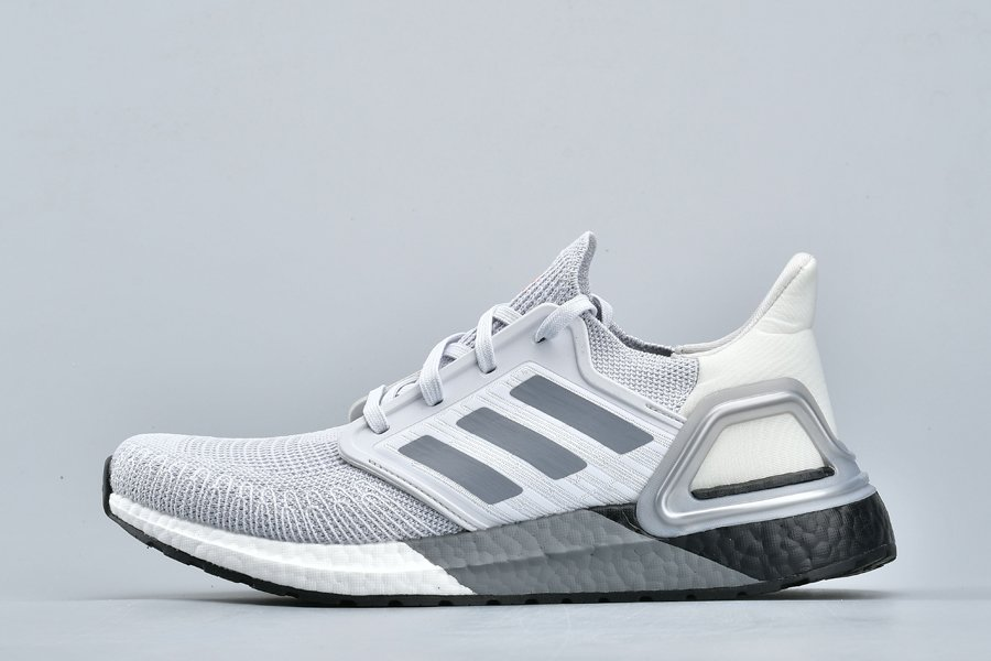 Brand New adidas Ultra Boost 2020 Light Grey On Sale