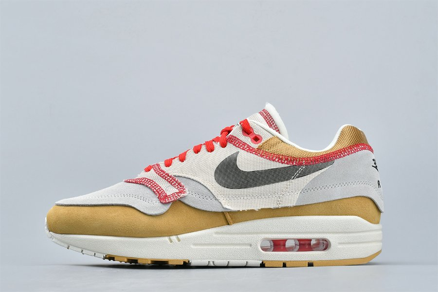 Buy Nike Air Max 1 Inside Out Club Gold 858876-713 Online