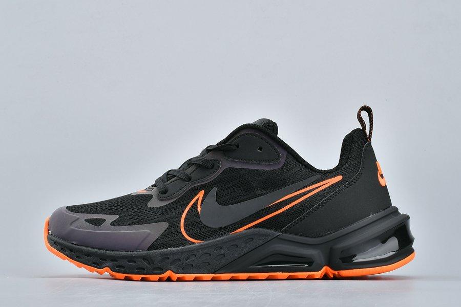 Buy Nike Air Max 200 Double Swoosh Black Orange Running Shoes