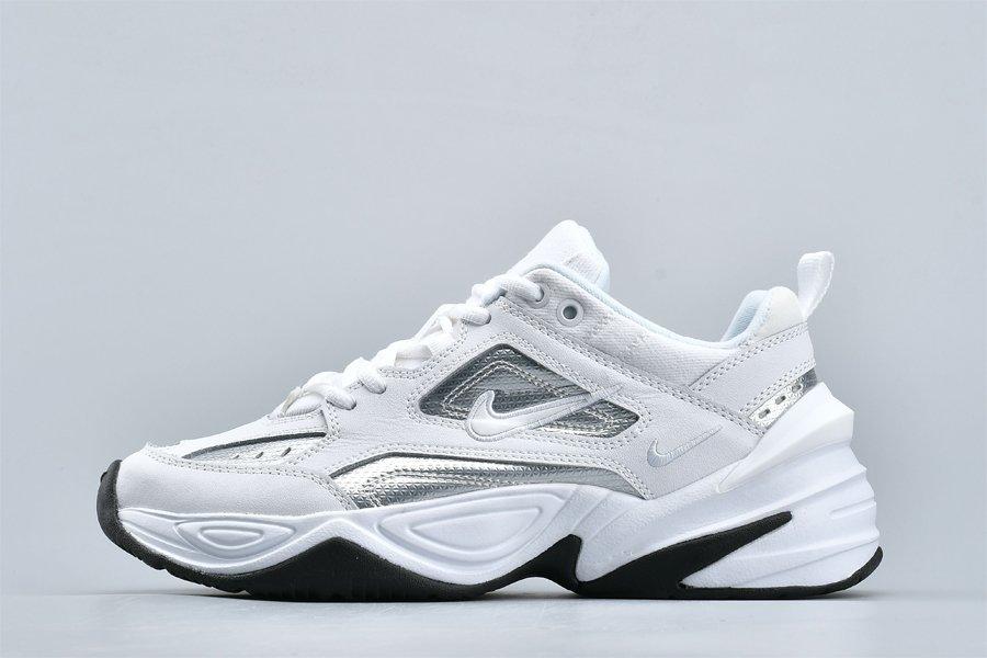 Buy Nike M2K Tekno Essential White Silver CJ9583-100 Online