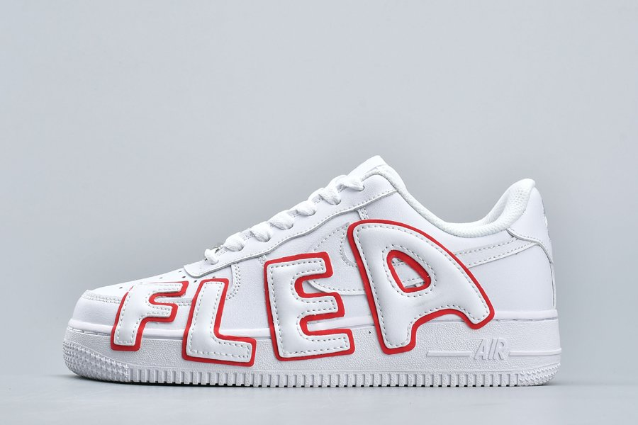 Cactus Plant Flea Market x Nike Air Force 1 Low CPFM White Red For Sale