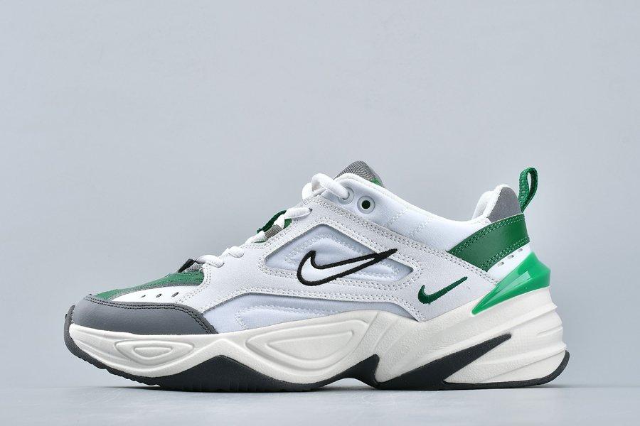Dad Shoe Nike M2K Tekno White Grey Green AV4789-009 For Sale