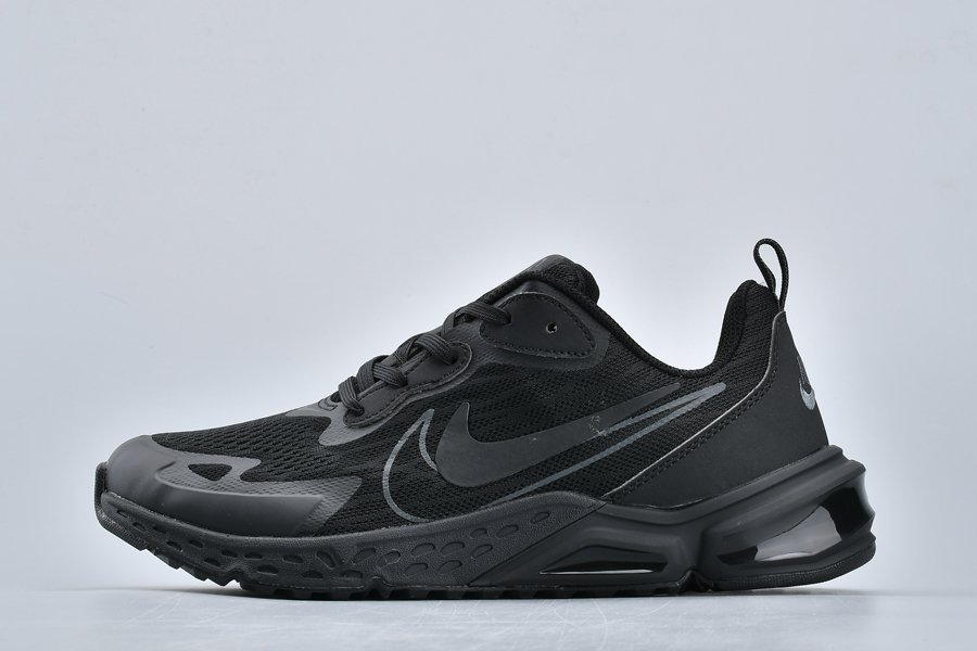 New Nike Air Max 200 Double Swoosh Triple Black For Sale