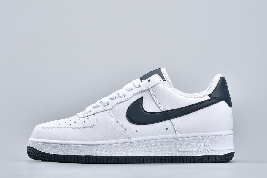 Nike Air Force 1 07 White Navy AH0287-108 For Sale