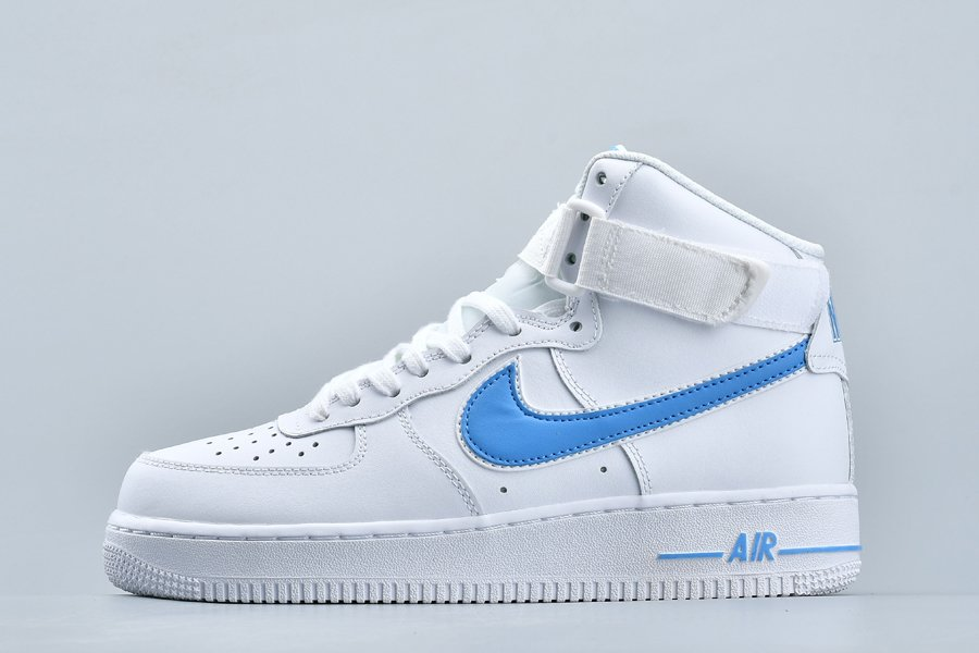 Nike Air Force 1 High 07 3 Photo Blue White Scarpe Online Economiche