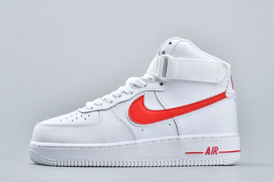 Nike Air Force 1 High 07 3 White University Red To Buy