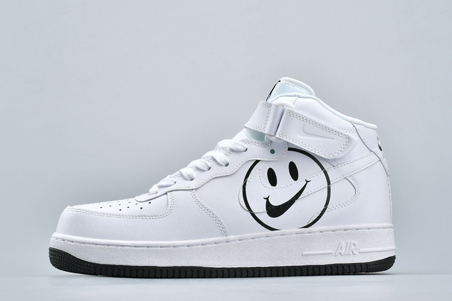 Nike Air Force 1 High Have a Nike Day Smiles White Black To Buy