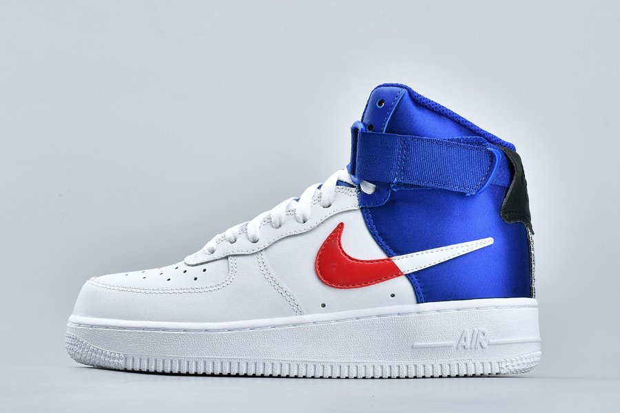 Nike Air Force 1 High NBA Clippers White Blue Red To Buy