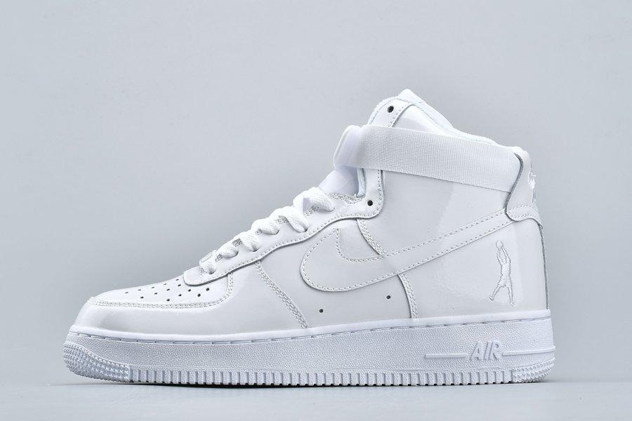 Nike Air Force 1 High Sheed Triple White 743546-107 For Sale