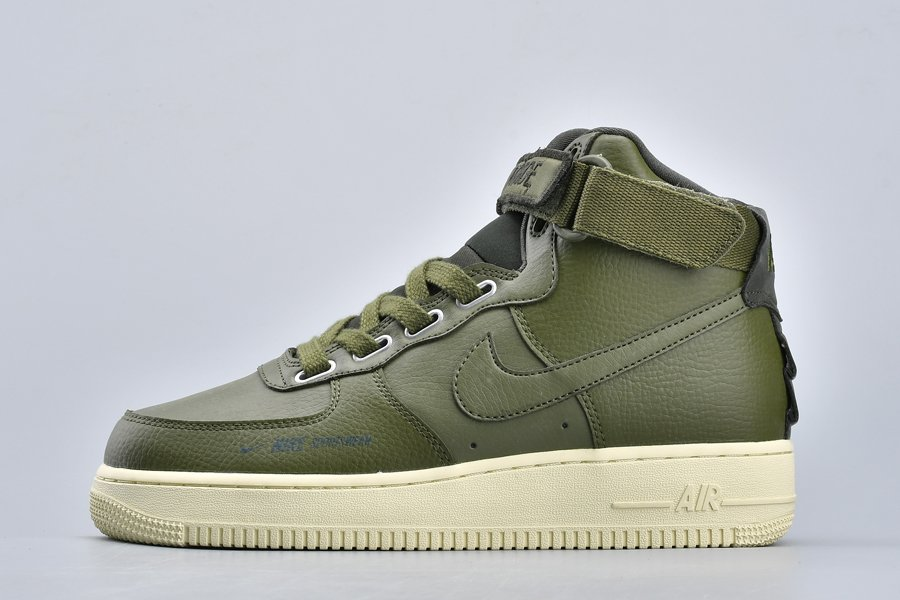 Nike Air Force 1 High Utility Olive Canvas AJ7311-300 For Sale