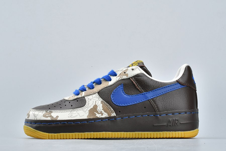 Nike Air Force 1 Inside Out Baroque Brown Varsity Royal-Sail On Sale