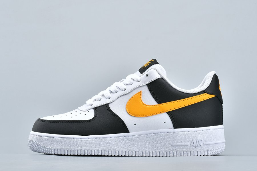 Nike Air Force 1 Low Taxi Black University Gold CK0806-001 For Sale