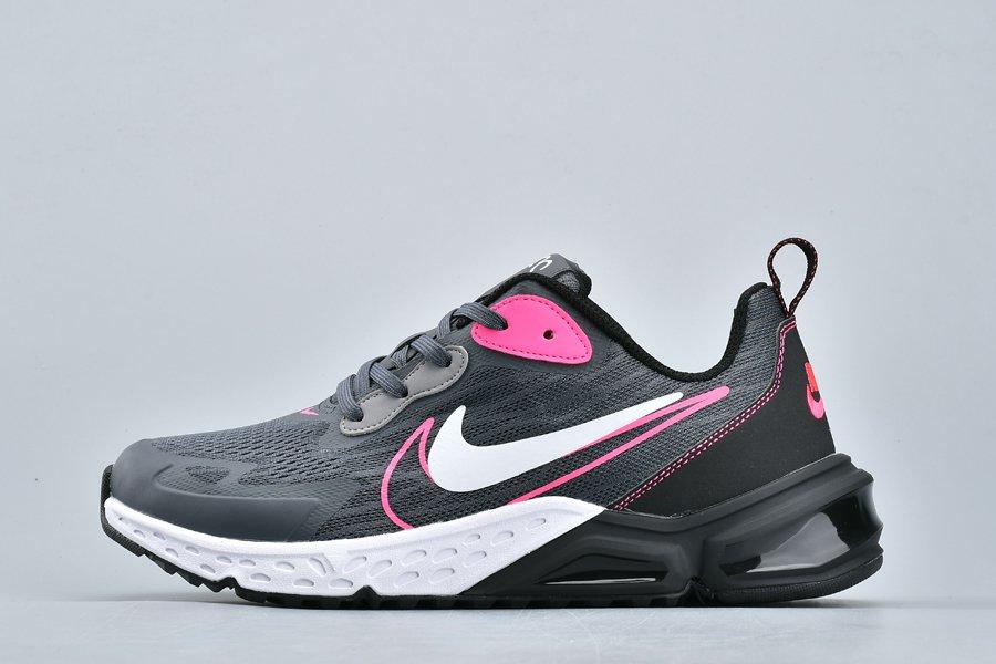 Nike Air Max 200 Double Swoosh Dark Grey Black-Pink New Sale