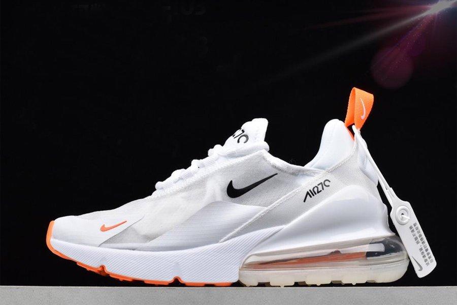 Nike Air Max 270 Translucent Upper White Orange To Buy
