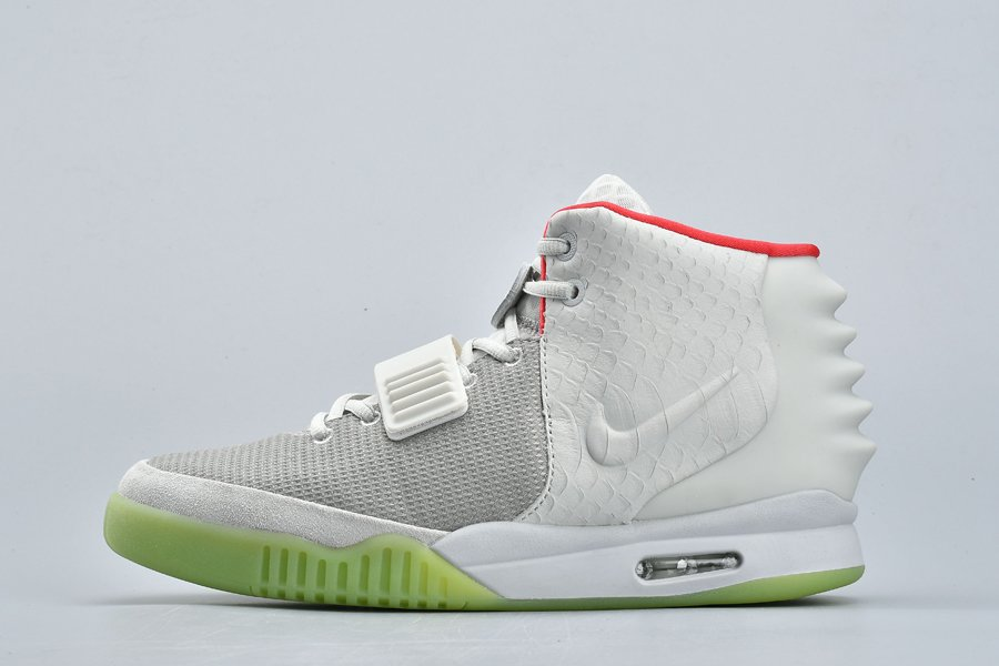 Nike Air Yeezy 2 Wolf Grey Pure Platinum 508214-010 On Sale