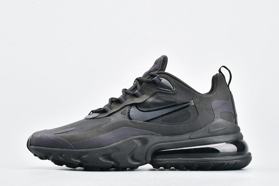 Nike Men's Air Max 270 React Triple Black AO4971-003 New Sale