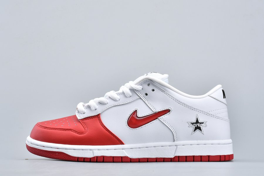 Supreme X Nike SB Dunk Low Varsity Red CK3480-600 For Sale