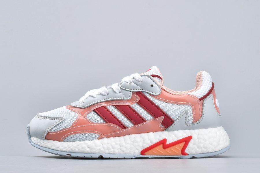 Womens adidas Originals Tresc Run White Glow Pink-Energy Pink FV4716 For Sale