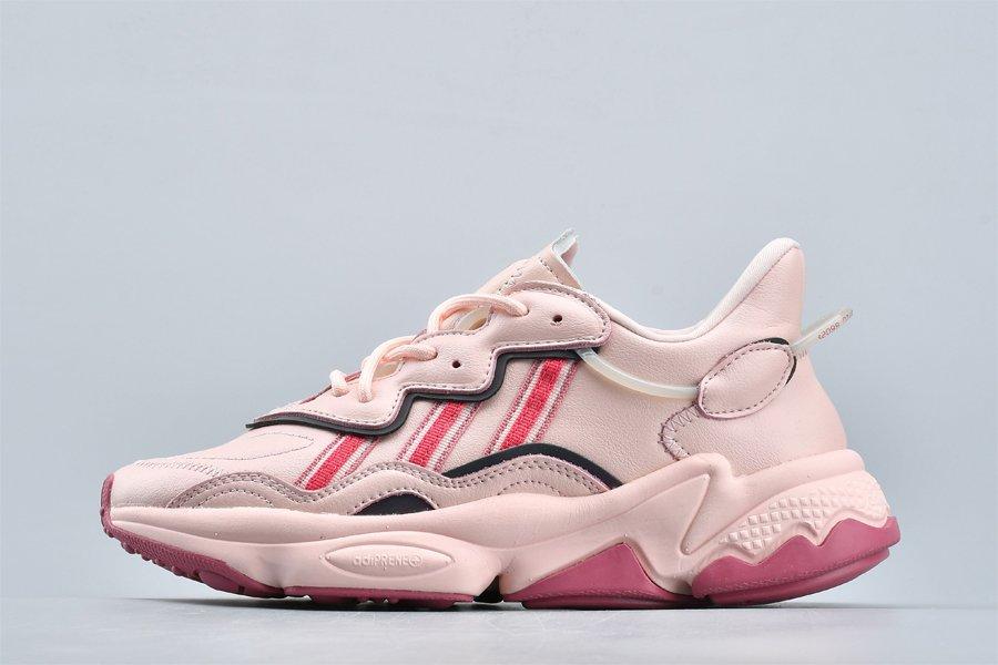 Womens adidas Ozweego Icy Pink EE5719 On Sale