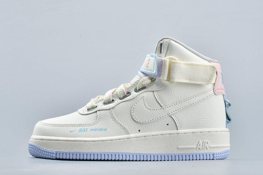 AF1 Nike Air Force 1 Hi UT Sail Lavender Mist For Sale