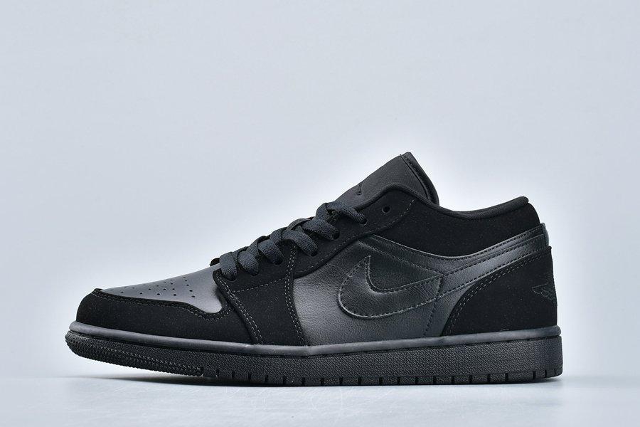 Air Jordan 1 Low Triple Black 553558-025 For Sale